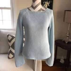 🎉Ann Taylor Powder Blue Knit Sweater